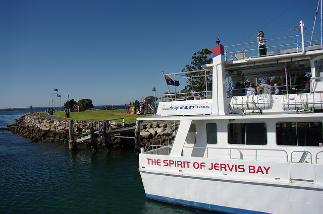 The Spirit of Jervis Bay tour boat in NSW, Australia