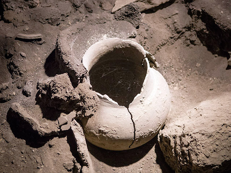 Ancient wine-making tools found in the Arenia caves of Armenia