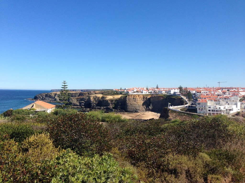 A town along the Rota Vicentina