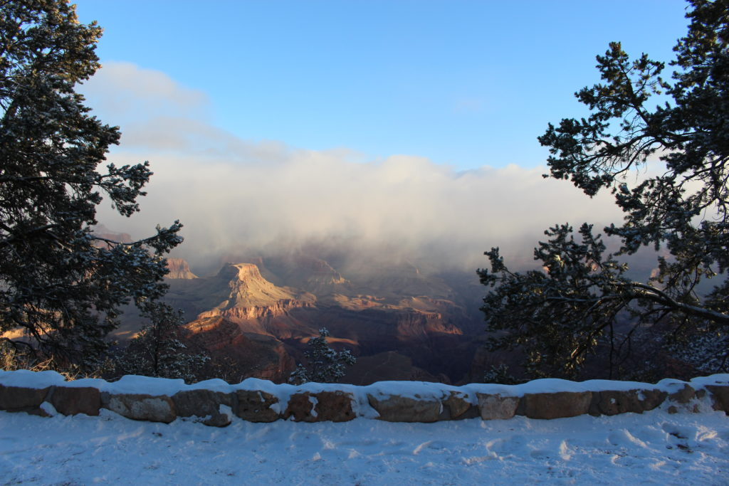 Grand Canyon Winter Backpacking