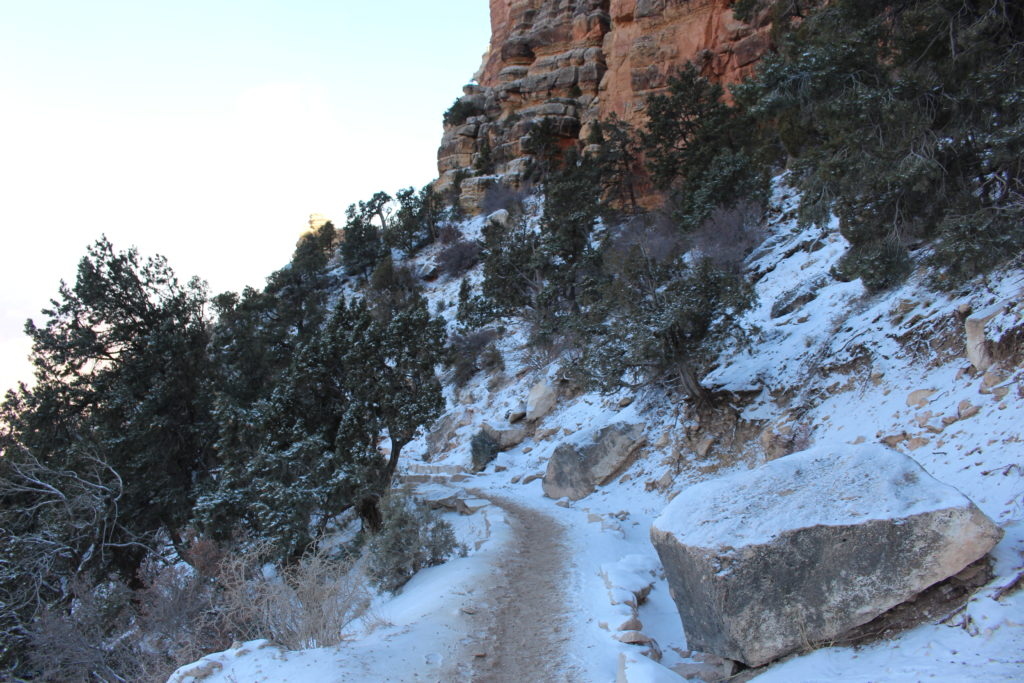Grand Canyon Winter Hiking Conditions