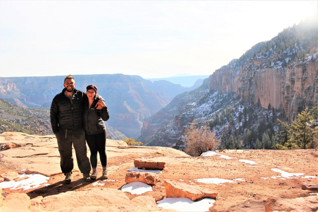 Grand Canyon Winter Hiking North Rim