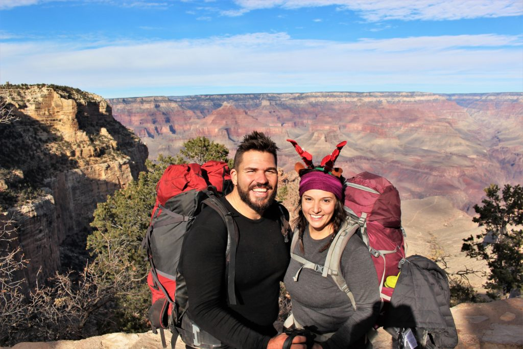 Rim to Rim to Rim Grand Canyon Winter Hiking