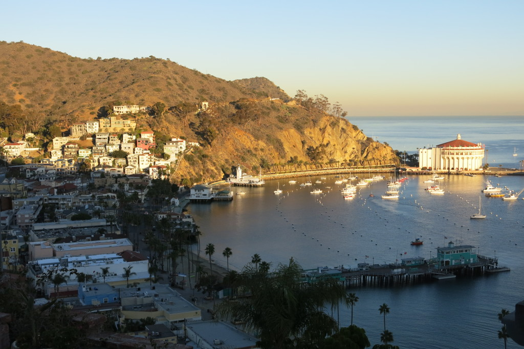 Sunrise at Avalon on Catalina Island