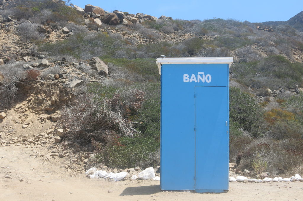 Bathrooms at the Playa