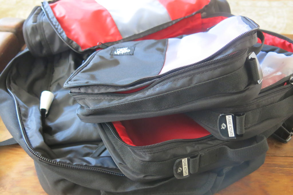 Cabin Zero Packing Cubes