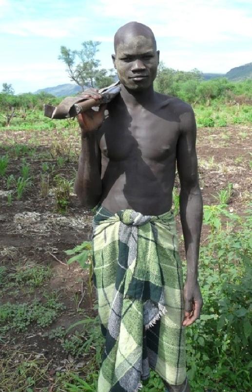 Mursi Man Ethiopia