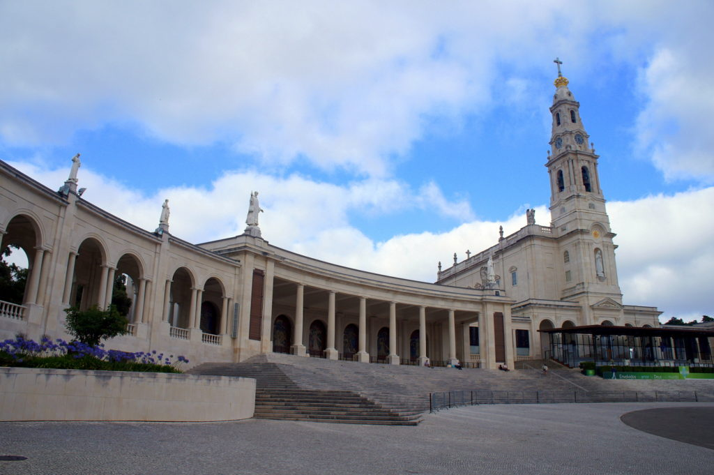 The Sanctuary of Fatima in Portugal