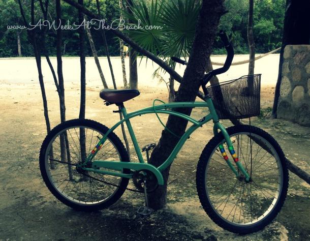 I Bike Tulum Head left and you ll be biking