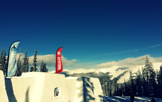 keystone snow castle