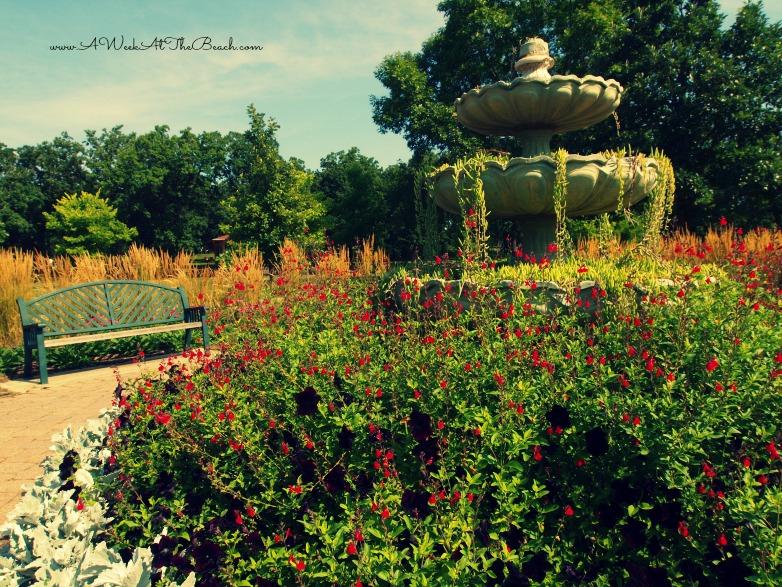 Minnehaha Park perfect summer morning at minnehaha park