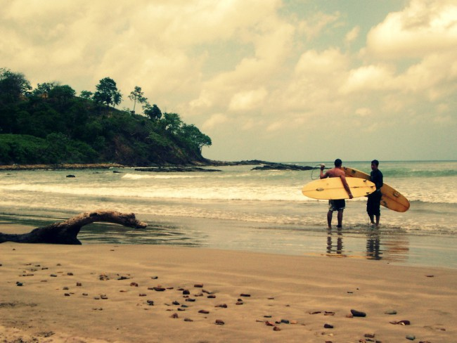 nicaragua pacific coast beach