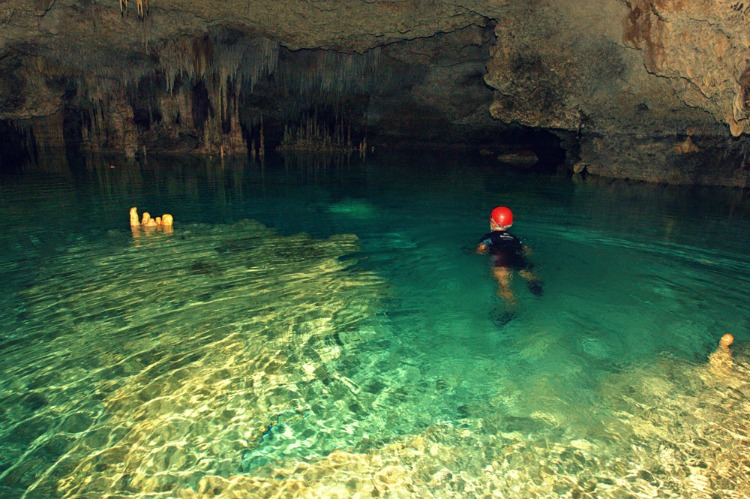 Rio Secreto Cenotes in the Riviera Maya