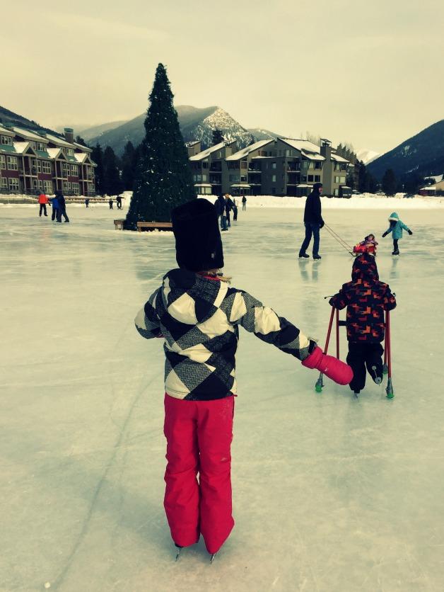 skating at keystone